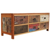 Loon Peak Barnes 6 Drawer Buffet Table