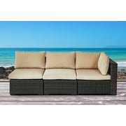 Ebern Designs Alycia 3 Piece Sectional Seating Group w/ Cushion
