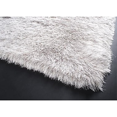 Ebern Designs Alayna Silver Area Rug; 4' x 6'