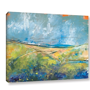 August Grove Early Spring by Jan Weiss Painting Print on Wrapped Canvas; 14'' H x 18'' W x 2'' D