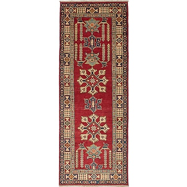 Bloomsbury Market Bernard Hand-Woven Cream/Red Area Rug