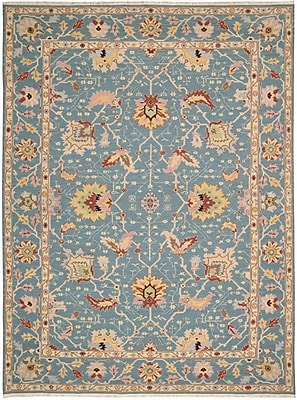Bloomsbury Market Pierson Hand-Woven Blue Area Rug; 7'10'' x 9'10''