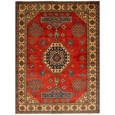 Bloomsbury Market Bernard Hand-Knotted Wool Red Area Rug