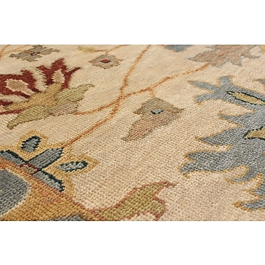 Darby Home Co Bassford Hand-Woven Ivory Area Rug; 8' x 10'2''