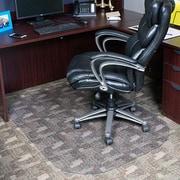 Dimex Evolve Modern Rectangle Office Low and Medium Pile Carpet Beveled Edge Chair Mat