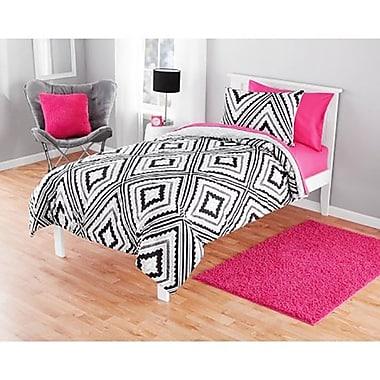 Harriet Bee Korey Reversible Comforter Set; Twin