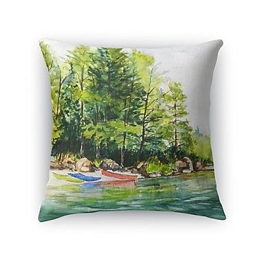 Loon Peak Antonella Throw Pillow; 18'' H x 18'' W x 6'' D