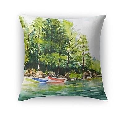Loon Peak Antonella Throw Pillow; 16'' H x 16'' W x 6'' D