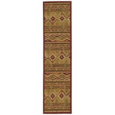 Loon Peak Bucknell Tribal Ikat Brown Area Rug