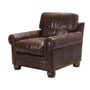 17 Stories Quinton Top Grain Leather Armchair