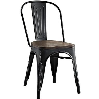 Williston Forge Ashlyn Side Chair; Black