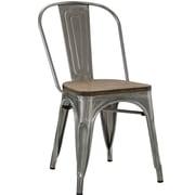 Williston Forge Ashlyn Side Chair; Gunmetal