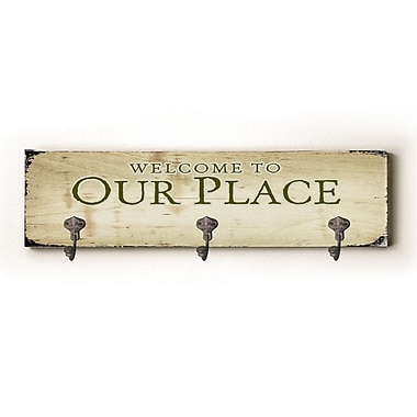 Winston Porter Our Place Solid Wood Wall Mounted Coat Rack