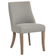 !nspire – Chaise d'appoint en tissu, gris, 2/paquet (202-471FB-GY)