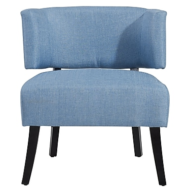 WHI Fabric Accent Chair, Light Blue (403-189LB)