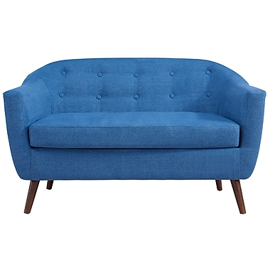 !nspire Settee, Blue (401-382BLU)
