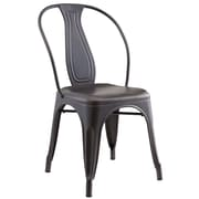 !nspire Industrial style Side Chair, 4/Pack (202-395GM)