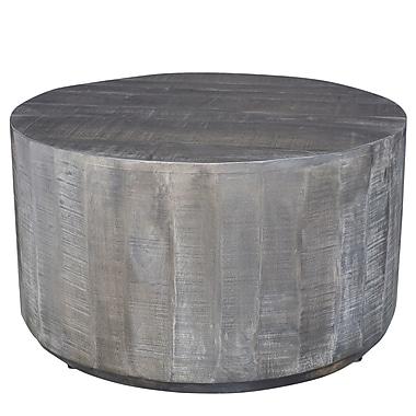 Nspire Table Basse En Bois De Manguier Gris Vieilli 301 126gy