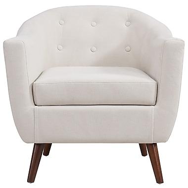 !Nspire ? fauteuil d?appoint, beige (403-382BG)