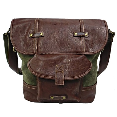 Licence 71195 Galea Medium Shoulder Bag, Khaki (LBF10779-KK)
