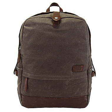 Licence 71195 College WaxC Backpack, Brown (LBF10865-BR)