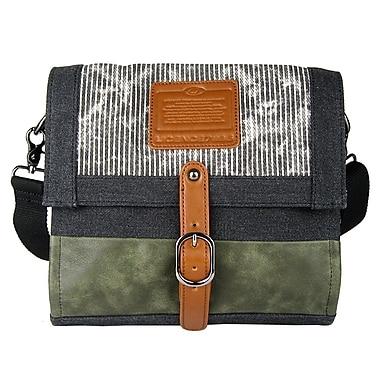 Licence 71195 Jumper Canvas M Shoulder Bag, Grey (LBF10871-GY)