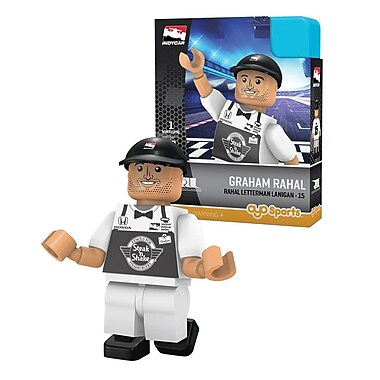 OYO Sportstoys Graham Rahal Minifigure, Rahal Letterman Racing