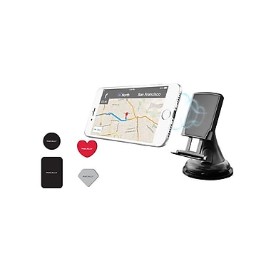 Macally Car Mount with Holder for Phone (MGripMag)