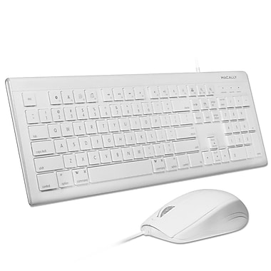 Macally USB Keyboard & Optical Mouse (MKEYECOMBO)