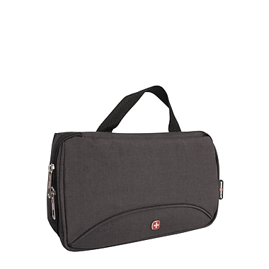 Swiss Gear 3-Fold Toiletry Bag, Grey (SWT0379W 005)