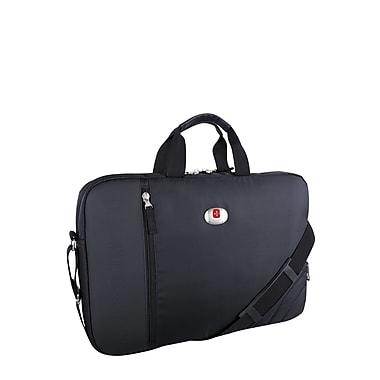 Swiss Gear – Malette pour ordinateur portatif de 17 po, noir (SWM102W 009)