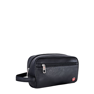 Swiss Gear Toiletry Case With Grab Handle, Black (SWT0400 009)