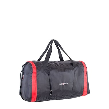 Swiss Gear Foldable Duffle Bag, Black (SWT0416 009)