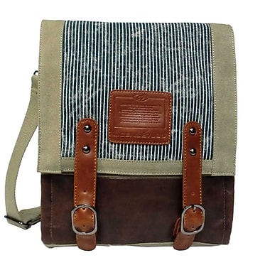 Licence 71195 – Sac de messager Jumper Canvas MV, beige (LBF10760-BE)