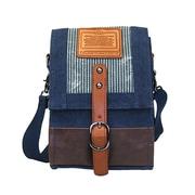 Licence 71195 Jumper Canvas SV Shoulder Bag, Navy (LBF10761-BL)