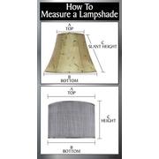 Aspen Creative Corporation 8'' Fabric Drum Lamp Shade