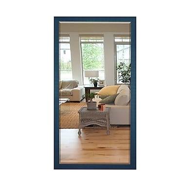 Brayden Studio Full Length Cottage Wood Framed Vanity Mirror; 35.5'' H x 29.5'' W