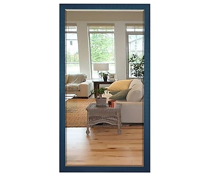 Brayden Studio Full Length Cottage Wood Framed Vanity Mirror; 35.5'' H x 23.5'' W