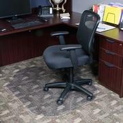 Dimex Evolve Modern Office Low Pile Carpet Beveled Edge w/ Lip Chair Mat; 0.1'' H x 39'' W x 52'' D