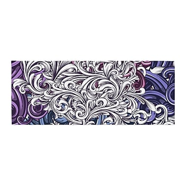 East Urban Home Nick Atkinson Celtic Floral I Abstract Bed Runner