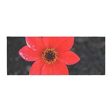East Urban Home Nick Nareshni Wet Flower Petals Bed Runner