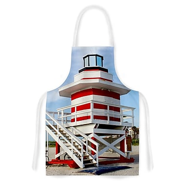 East Urban Home Philip Brown Lighthouse Lifeguard Stand Photography Artistic Apron