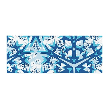 East Urban Home Miranda Mol Winter Mountains Bed Runner