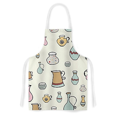 East Urban Home Louise Jugs Pattern Artistic Apron