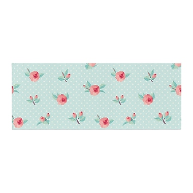 East Urban Home Happy Easter II Springtime Bed Runner