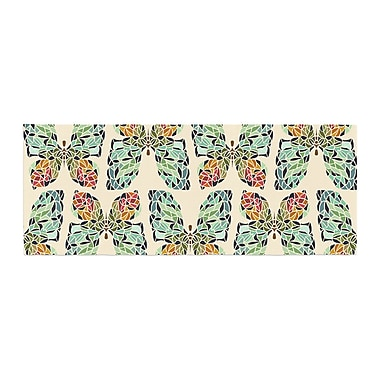 East Urban Home Art Love Passion Butterfly Pattern Bed Runner