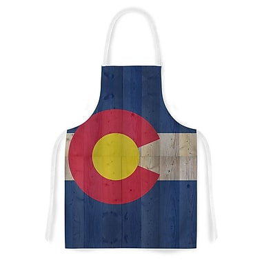 East Urban Home Bruce Stanfield Flag of Colorado Artistic Apron