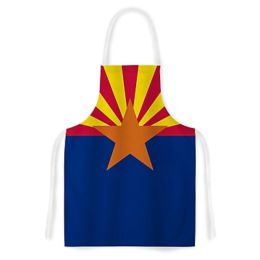 East Urban Home Bruce Stanfield Flag of Arizona Artistic Apron
