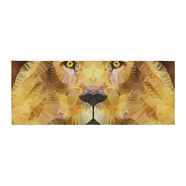 East Urban Home Ancello Lion King Bed Runner