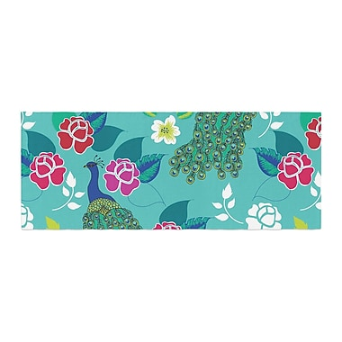 East Urban Home Anneline Sophia Mexican Peacock Bed Runner